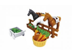 Farm - Pferdefütterung