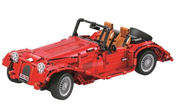 Oldtimer Cabrio in red