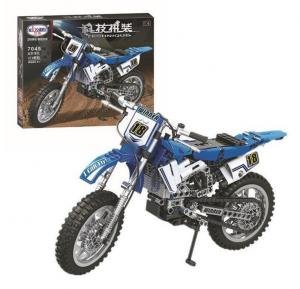 Motocross Bike blue