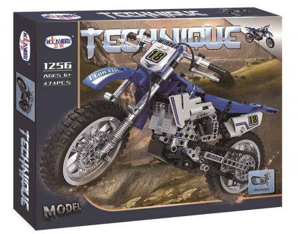 Motorcross Bike blue