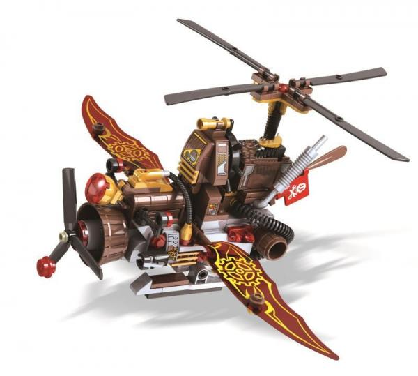 Steam Age Helicopter