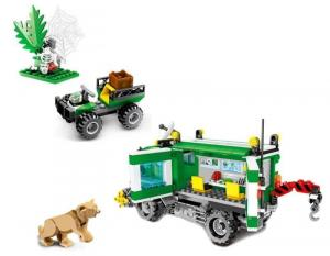 Dschungelforscher Truck
