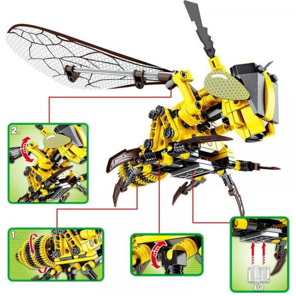 Mechanische Honigbiene