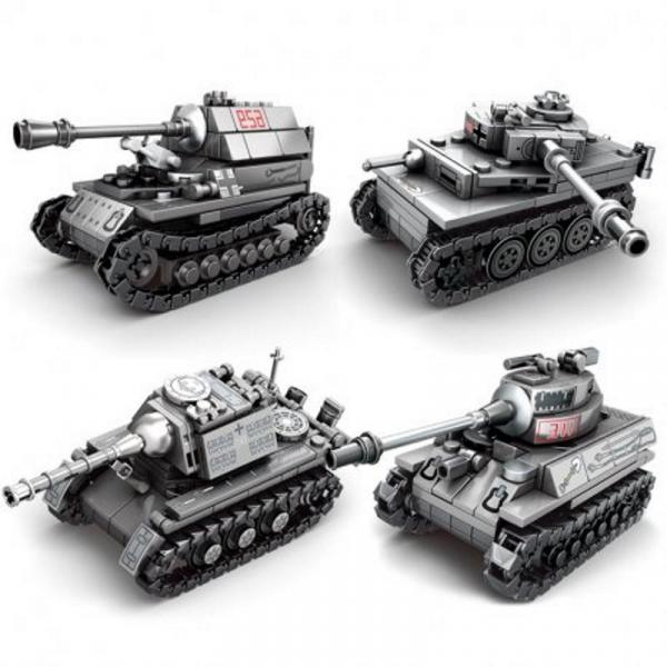 Tank Set - Set of 4 tanks