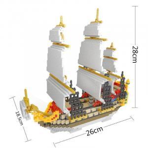 Segelschiff (Diamond Blocks)