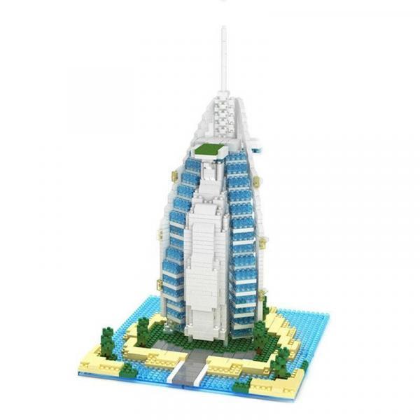 Hotel Arabia (diamond blocks)