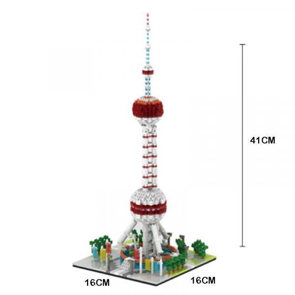 Oriental Pearl Tower of Shanghai