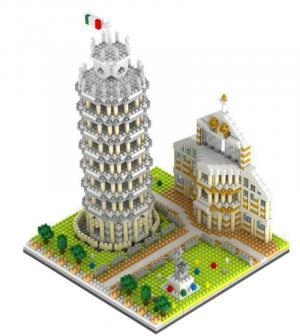 Italian Pisa Leaning Tower