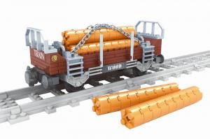 Lumberjack stake wagon - Woodcutter