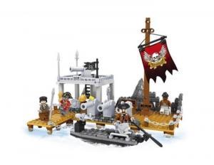 Piraten -  Bewachung des Schädelhauses