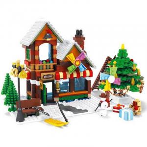 Winterdorf Spielzeugmacher