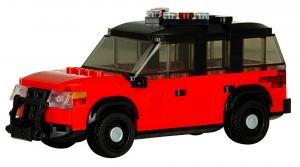 Battalion Chiefs SUV red/black