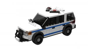 Police Car USA SUV