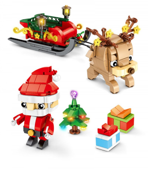 Christmas Set - Santa Claus with Reindeer