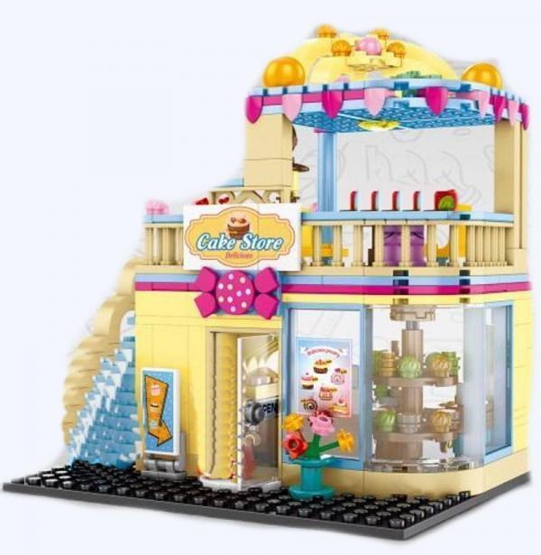 Mini Street View - Cake Store
