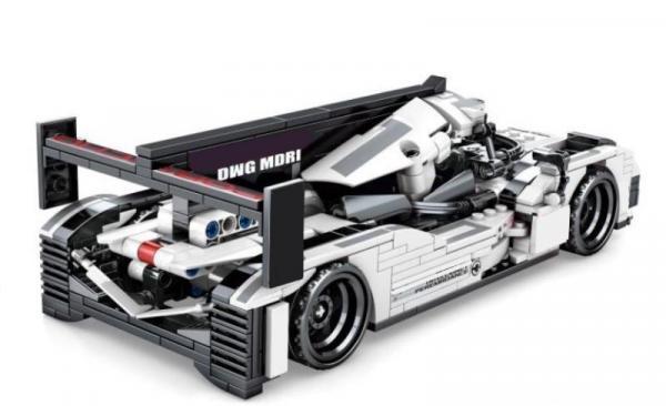 Speedcar in white/black