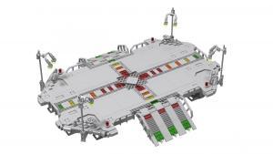 Main Base Mars - landing platform