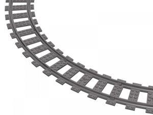 Track curved R40 16cm Track set, 16 pcs