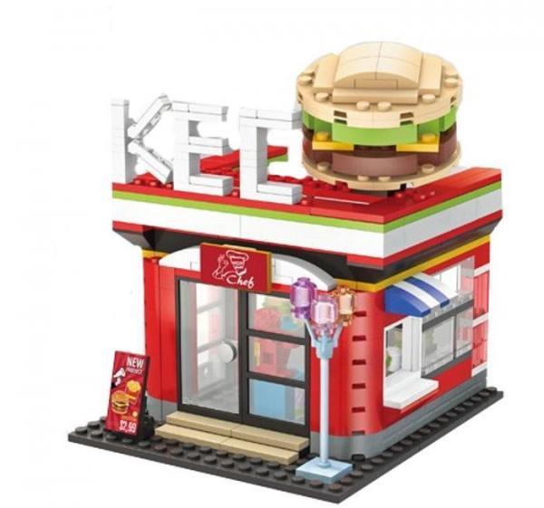Scenario:  Burger House - Restaurant