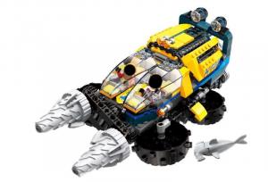 Unterwasser-Spiralbohrwagen