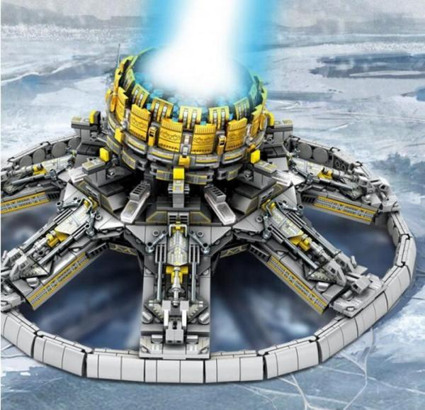 Planet-Driving Engine from the Wandering Earth