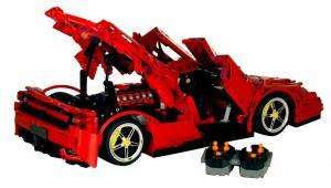 Racing Car in red