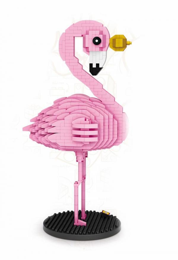 Flamingo rosa (diamond blocks)