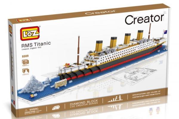 R.M.S. Titanic (Diamond blocks)