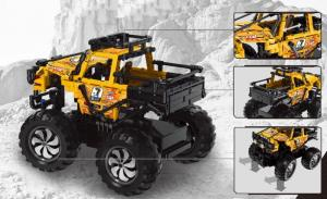 Monster Truck in orange