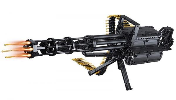 Gatling Gewehr - Mini Gun