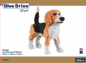 Beagle, Dog (Diamond Blocks)