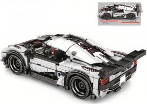 Speedcar in light grey/black