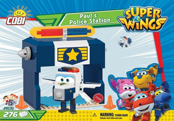 Super Wings - Paul`s Polizeistation
