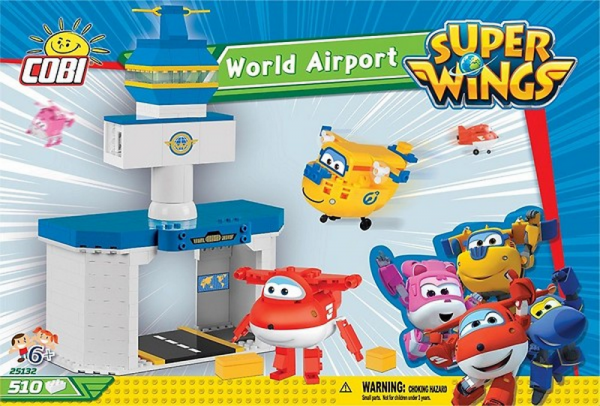 Super Wings - World Airport (Jett & Donnie)