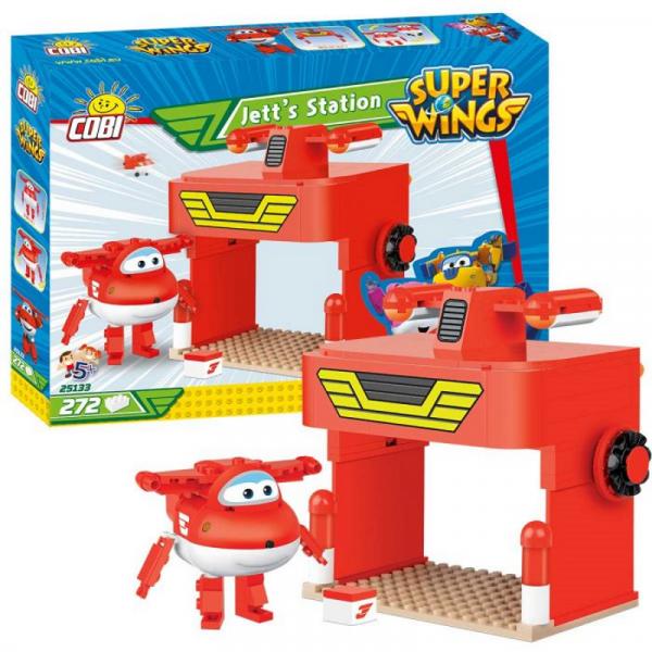 Super Wings - Jett´s Station