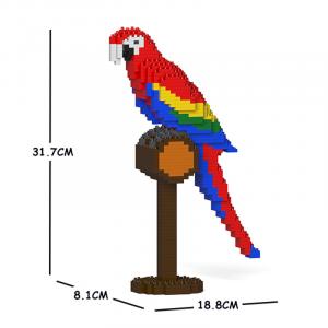 Scarlet Macaw 01S