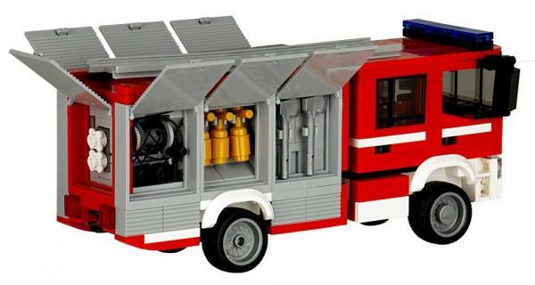 Fire Brigade Truck Sweden TLF 4000