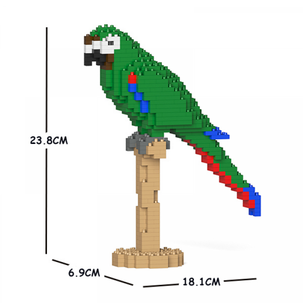 Chestnut-fronted Macaw 01S