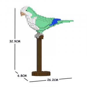 Quäker Papagei 01S-M01 grün
