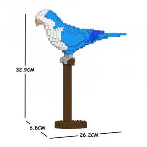 Quäker Papagei 01S-M02 blau