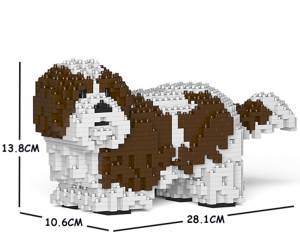 Shih Tzu white-brown