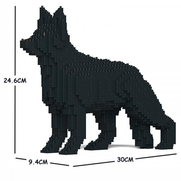German Shepherd black