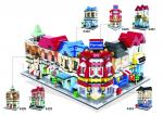 Mini Street Klemmbausteine Block, 6er Set