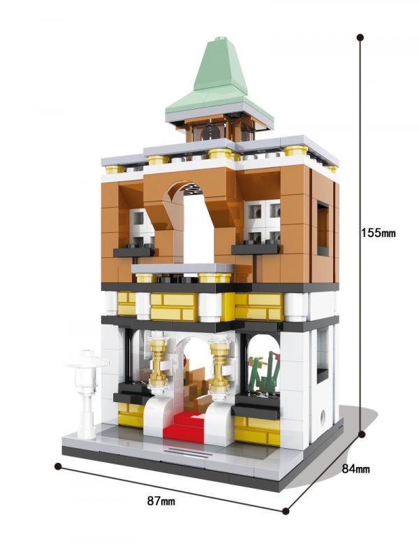 Mini Street building block, 6er Set