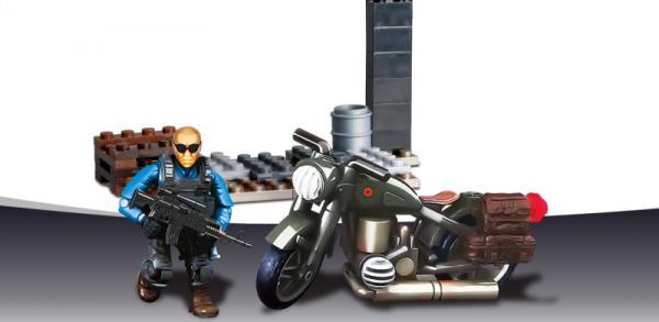 Special Troops: Motorbike Breakout