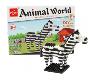 Zebra (diamond blocks)