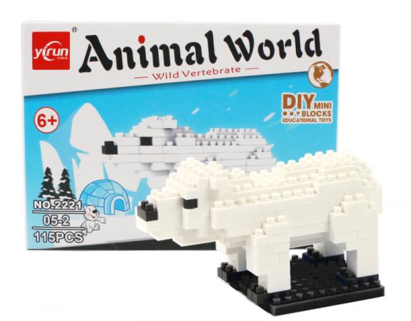 Polar bear (diamond blocks)