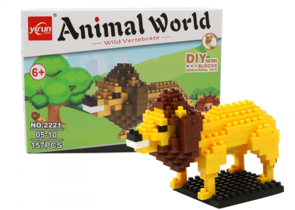 Lion (diamond blocks)