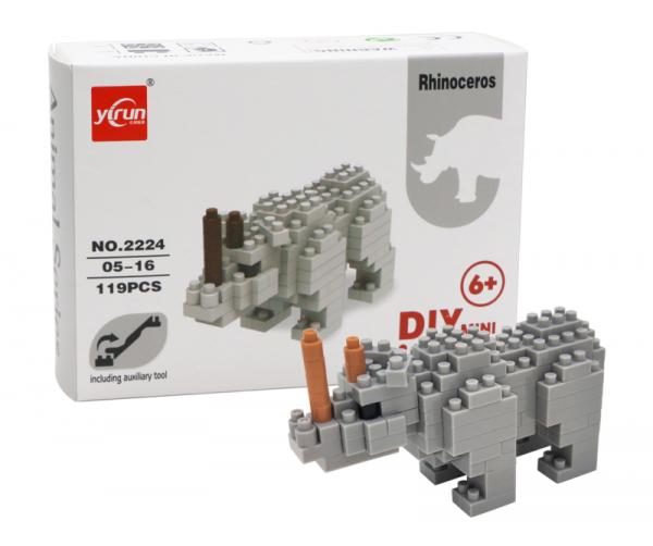 Rhinoceros (diamond blocks)