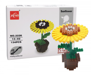 Sunflower (diamond blocks)
